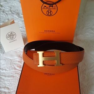 Authentic Hermès belt